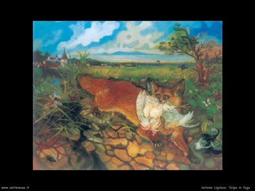 antonio ligabue,art naïf,art immédiat,peintres autodidactes,expressionnisme naïf,van gogh suisse ou italien?