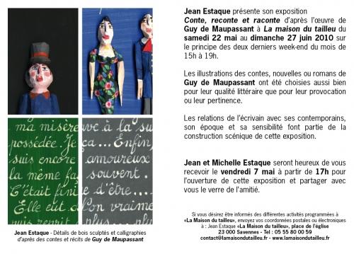 Expo Jean Estaque, Conte, reconte et raconte, à Savennes, 2010.jpg