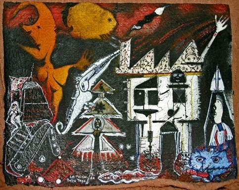 Bruno Montpied, La maison de Baba-Yaga,2005, ph.Bruno Montpied.jpg