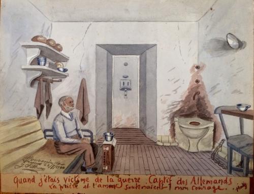 régis gayraud,silburn,occupation allemande,guerre de 39-45,mooky,art naïf,art de prison