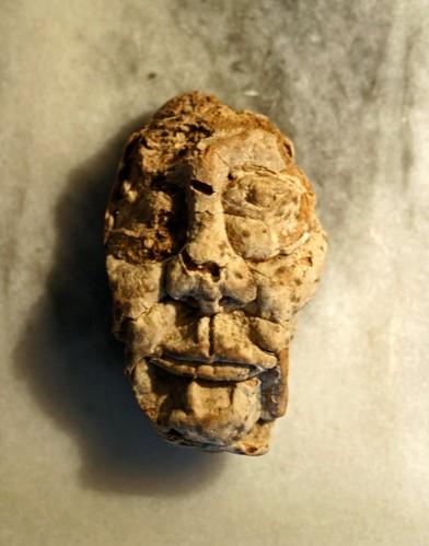 Anonyme, sculpture peut-être sur champignon d'arbre, coll B.Montpied.jpg
