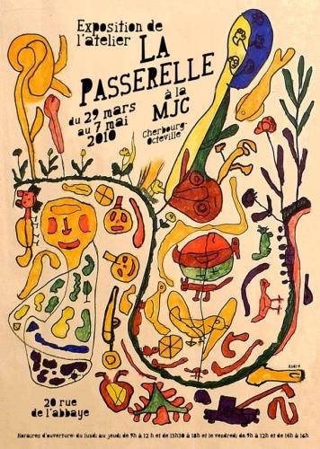 Affiche expo La Passerelle, mars-mai 2010.JPG