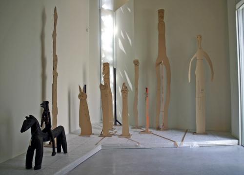 Salle des Habitants-paysagistes, avec oeuvre de Théo Wiesen,juin 2010, ph. Bruno Montpied.jpg