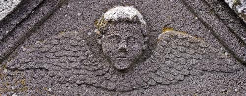 Détail d'une tombe au cimetière de Murat, photo Bruno Montpied, 2007.jpg