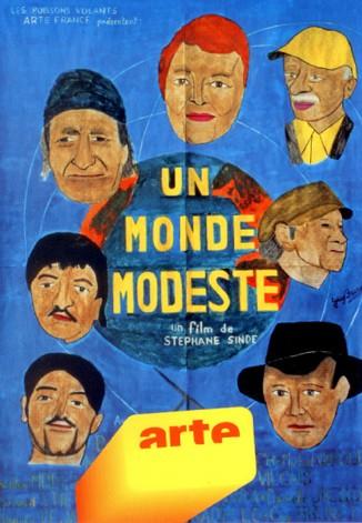 Guy brunet, affiche peinte du film Un monde modeste.jpg