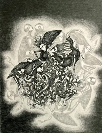 Ruzena,dessin sans titre,ph.Bruno Montpied, 2008.jpg