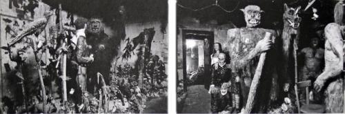 Franc Barret,deux vues par J-C. Garcia de son musée à Saint-Philippe du Seignal, revue Le Festin n°15, 1994.jpg