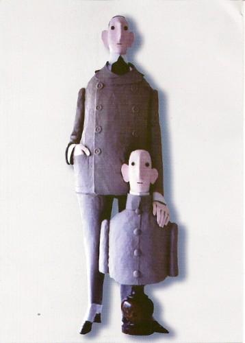 Chasse-Pot,Le demi-frère,2006,copyright Adagp 2009, expo au MIAN de Nice 2009.jpg