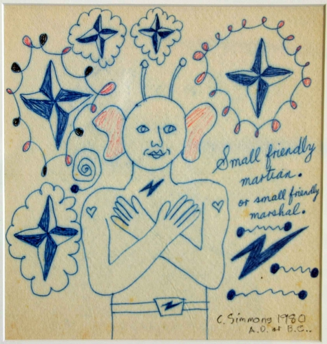 christopher simmons,alain dettinger,art brut australien,martien