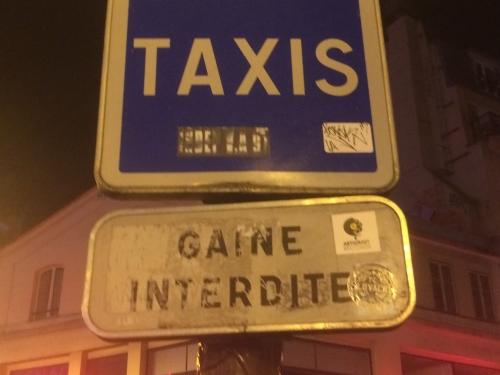 Gaine interdite pour les taxis, ph RG.jpg