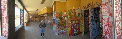la pinturitas,hervé couton,spaces,jo farb hernandez,peintures murales,muralisme brut