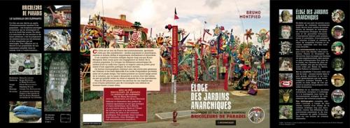 Maquette de le 1ère et de la 4ème de couv de L'Eloge des Jardins Anarchiques, Editions de l'Insomniaque, mars 2010.jpg