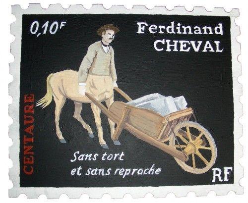 facteur cheval,centaure,serge castillo