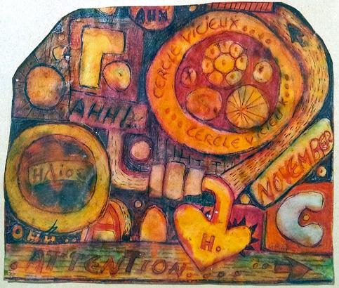 guy harloff,alchimie,art singulier,périphérie de l'art moderne,art moderne méconnu,beat generation,galerie les yeux fertiles,alice paalen,dvd les phares