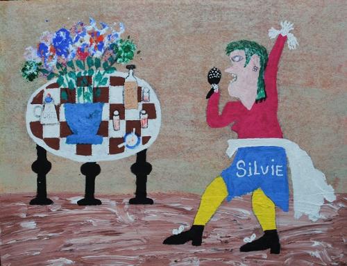 03 Silvie (2), fait le 8 10 2001, 31x40cm, signé au dos.jpg