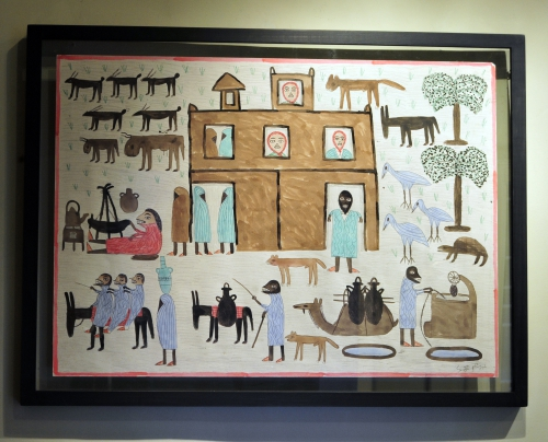 babahoum,art naïf marocain,art brut marocain,art immédiat,galerie conil