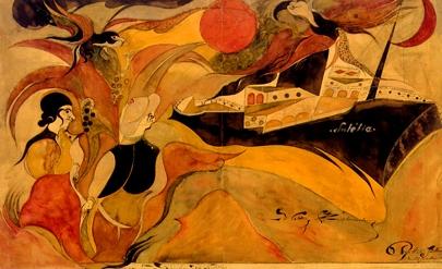 Guillaume Pujolle, Histoire d'une Collection (2), Centre d'Etude de l'Expression, expo au Musée Singer Polignac en 2010.jpg