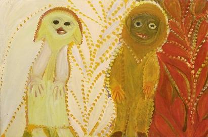 Anselme Boix-Vives, peinture exposée à la Galerie Margaron, 2011
