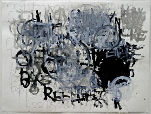 Peinture de Dan Miller, Galerie Impaire, ph B.Montpied, juin 2008.jpg