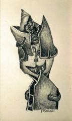 Gilles Manero,dessin au crayon graphite, coll.privée, ph.B.Montpied.jpg